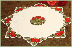 Tableware set with Rose Lace
