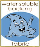 Water Soluble Backing