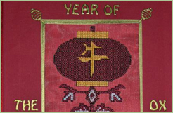 """Year of the Ox"" Greeting Card"