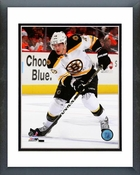 David Krejci 2011-12 Action Framed Picture Framed Picture