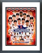 Boston Red Sox 2013 World Series Champions Composite Framed Picture