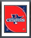 Boston Red Sox 2013 World Series Champions Logo Framed Picture