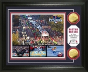 "Boston Red Sox 2013 World Series Champions ""Parade"" Gold Coin Photo Mint"