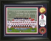 "Boston Red Sox 2013 World Series Champions ""Team"" Dirt Coin Photo Mint"