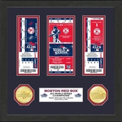 Boston Red Sox 2013 World Series Champions Ticket and Coin Collection