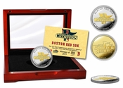Boston Red Sox 2013 World Series Champions Two-Tone Mint Coin