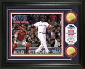 "Boston Red Sox 2013 World Series ""MVP"" Gold Coin Photo Mint"