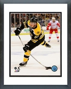 Brad Marchand 2013-14 Playoff Action Framed Picture