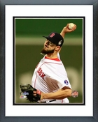 Brandon Workman Game 6 of the 2013 World Series Action Framed Picture