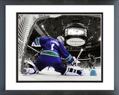 Roberto Luongo Game 2 of the 2011 NHL Stanley Cup Finals Spotlight Action Framed Picture Framed Picture