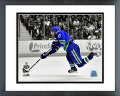 Ryan Kesler Game 1 of the 2011 NHL Stanley Cup Finals Spotlight Action Framed Picture Framed Picture