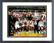 2007-2008 Boston Celtics NBA Finals Champions Celebration Framed Picture Framed Picture