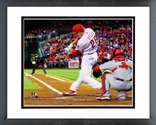 Chase Utley 2013 Action Framed Picture