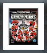 Chicago Blackhawks 2013 Stanley Cup Champions Composite Framed Picture