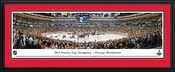 Chicago Blackhawks 2013 Stanley Cup Champions Deluxe Framed Panoramic