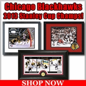 Chicago Blackhawks 2013 Stanley Cup Champions Framed Pictures For Sale