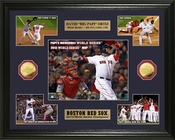 "David ""Big Papi"" Ortiz World Series Champion Commemorative Gold Coin Photo Mint"