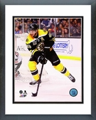 David Krejci 2013-14 Action Framed Picture