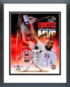 David Ortiz 2013 World Series MVP Portrait Plus Framed Picture