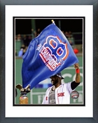 David Ortiz Celebrates Winning Game 6 of the 2013 ALCS Framed Picture Framed Picture