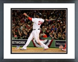 David Ortiz Home Run Game 1 of the 2013 World Series Framed Picture Framed Picture