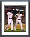 David Ortiz & Jacoby Ellsbury Game 6 of the 2013 World Series Action Framed Picture