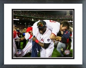David Ortiz & Koji Uehara Celebrate Winning Game 6 of the 2013 ALCS Framed Picture Framed Picture