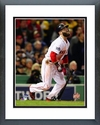 Dustin Pedroia Game 6 of the 2013 World Series Action Framed Picture