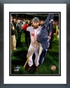 Dustin Pedroia Game 6 of the 2013 World Series Celebration Framed Picture
