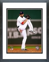 Franklin Morales Game 6 of the 2013 American League Championship Series Framed Picture