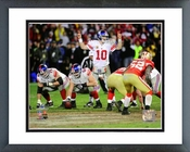 Eli Manning NFC Championship Game Action Framed Picture Framed Picture