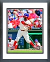 Jimmy Rollins 2013 Action Framed Picture