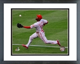 Jimmy Rollins 2014 Action Framed Picture