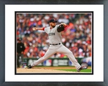 John Lackey Game 3 of the 2013 ALCS Action Framed Picture Framed Picture