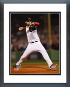 John Lackey Game 6 of the 2013 World Series Action Framed Picture