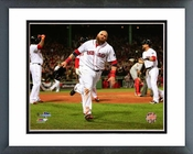 Jonny Gomes Game 6 of the 2013 World Series Action Framed Picture