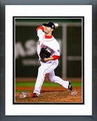 Junichi Tazawa Game 2 of the 2013 World Series Action Framed Picture Framed Picture