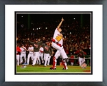 Koji Uehara & David Ross celebrates winning Game 6 of the 2013 World Series Framed Picture
