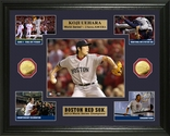 Koji Uehara World Series Champion Commemorative Gold Coin Photo Mint