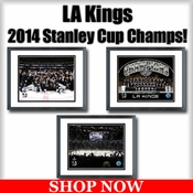 LA Kings 2014 Stanley Cup Champions Framed Pictures