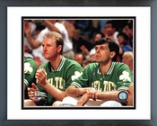 Larry Bird and Kevin McHale Celtics Framed Picture 8x10