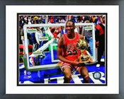 Michael Jordan 1987 Slam Dunk Contest Champion Framed Picture 8x10