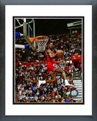 Michael Jordan 1987 Slam Dunk Contest Framed Picture 8x10