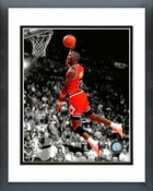 Michael Jordan 1990 Slam Dunk Spotlight Framed Picture 8x10