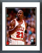 Michael Jordan 1994-95 Fist Pump Framed Picture 8x10