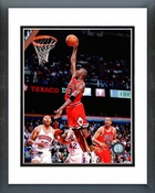 Michael Jordan 1995-96 Dunk Action Framed Picture 8x10