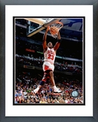 Michael Jordan 1996 Dunk Action Framed Picture 8x10