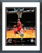 Michael Jordan 1996 Reverse Dunk Action Framed Picture 8x10