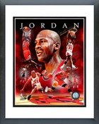 Michael Jordan 2011 Portrait Plus Framed Picture 8x10
