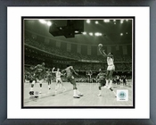 Michael Jordan North Carolina 1982 Game Winning Basket Horizontal Framed Picture 8x10
